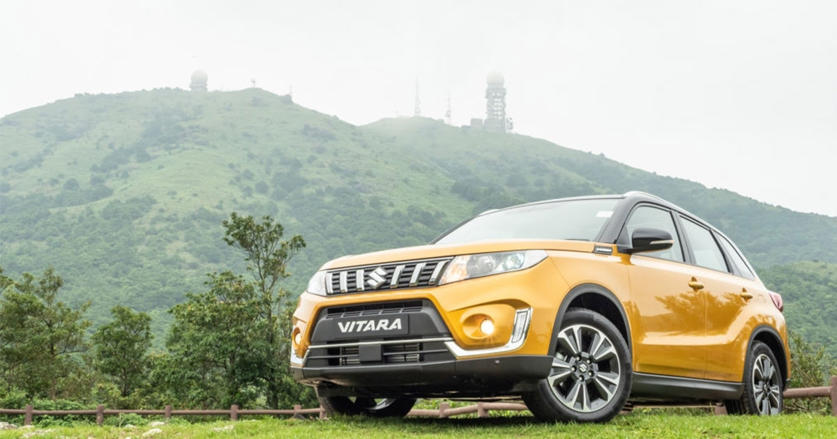 Imponente Suzuki Vitara amarilla