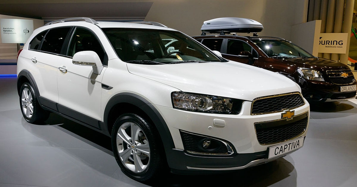 Hermosa Chevrolet Captiva blanca