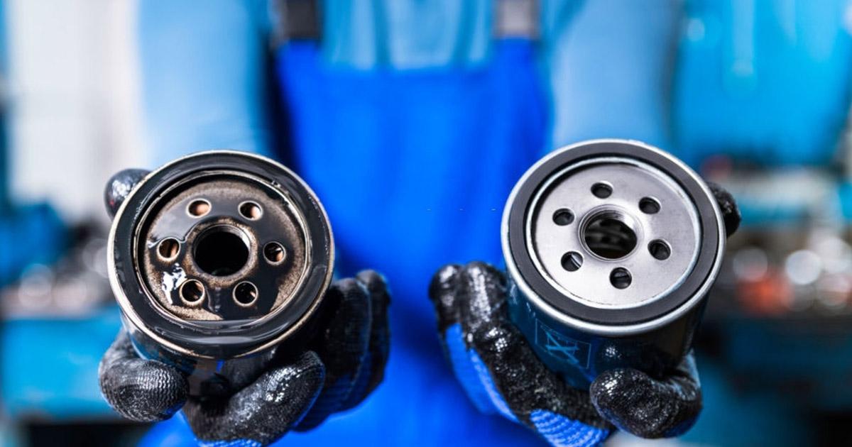 cambiar el filtro de aceite Renault Megane
