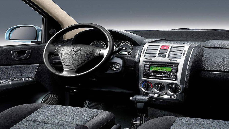 Características del tablero del Hyundai Getz 2007