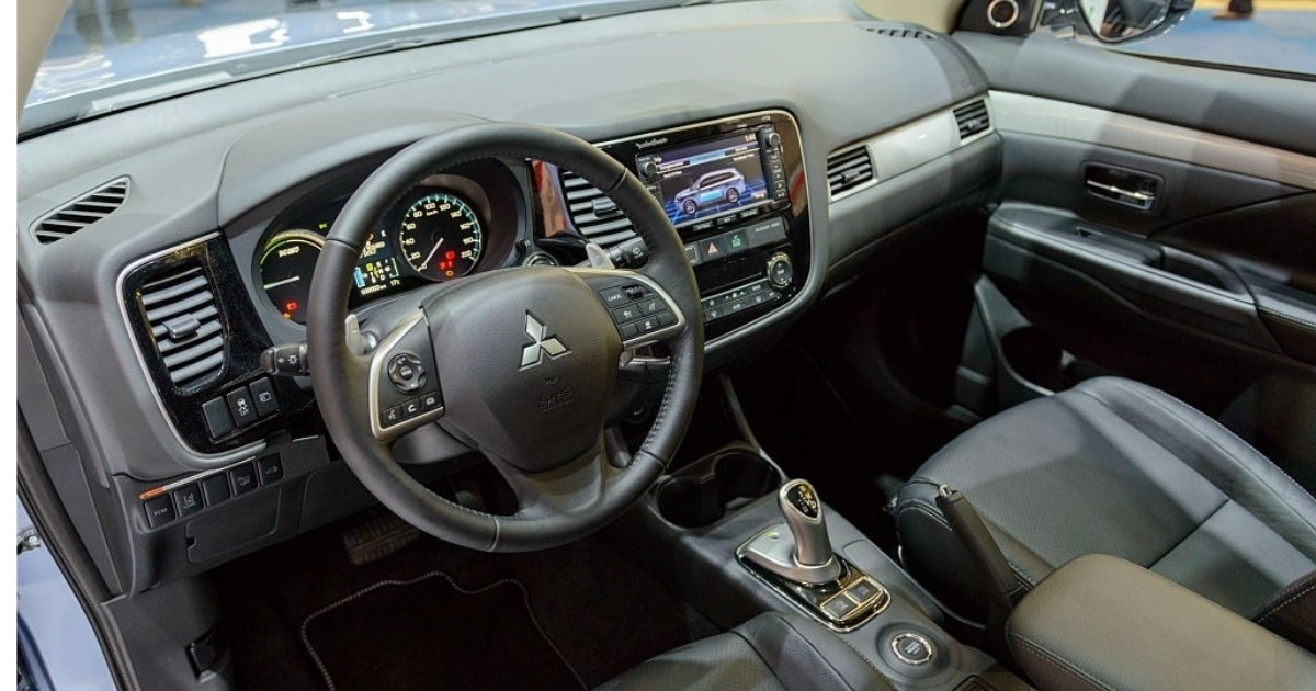 Hermoso tablero de Mitsubishi
