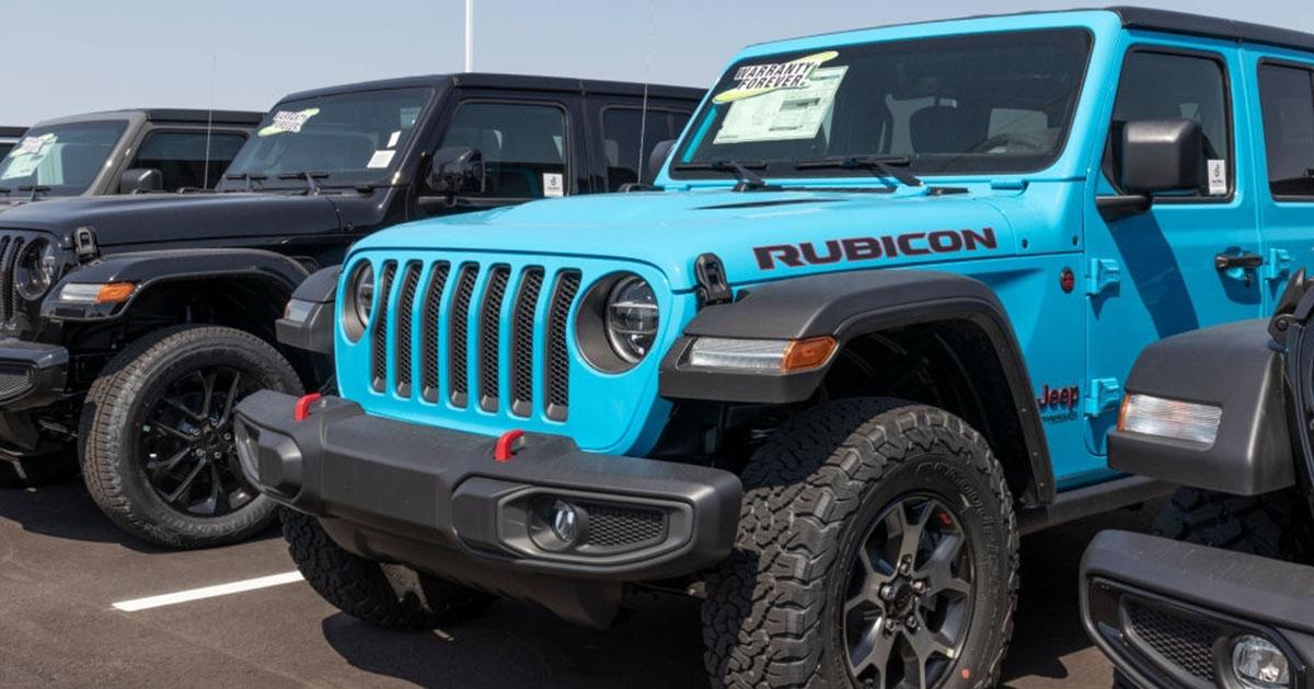Adquiere tu Jeep Wrangler Rubicon