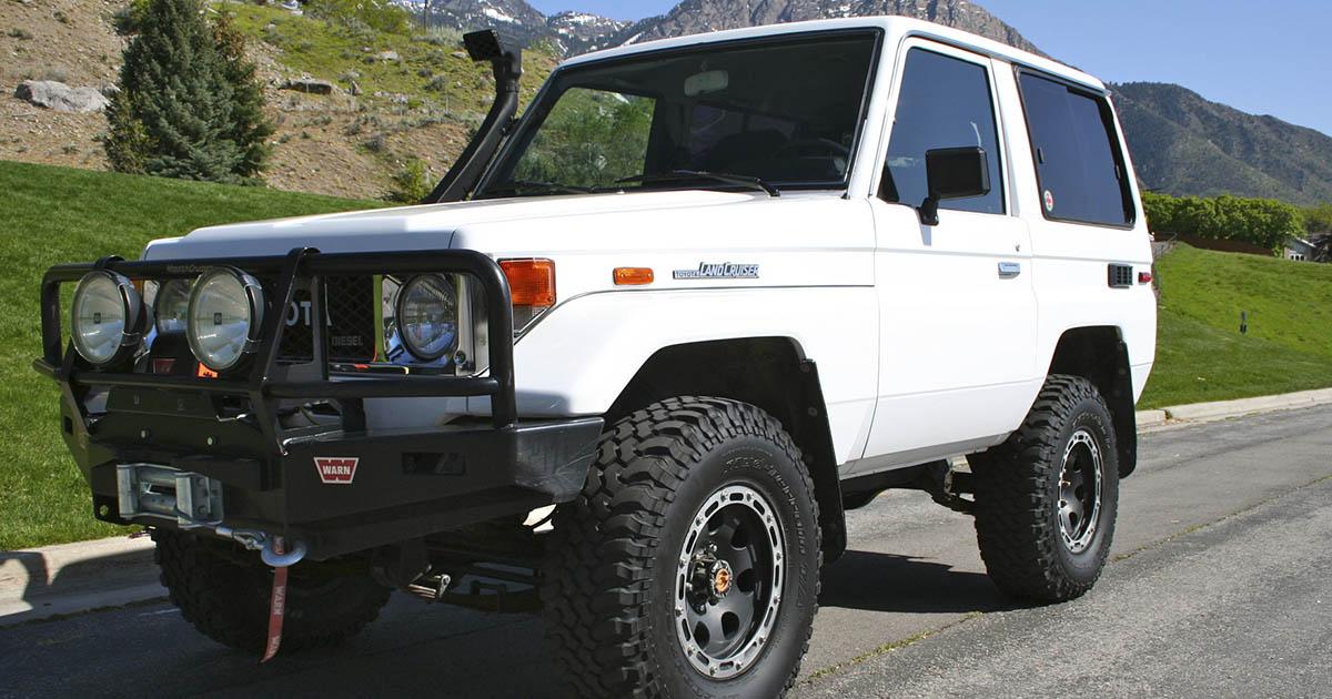 Vehículo Toyota Land Cruiser Machito