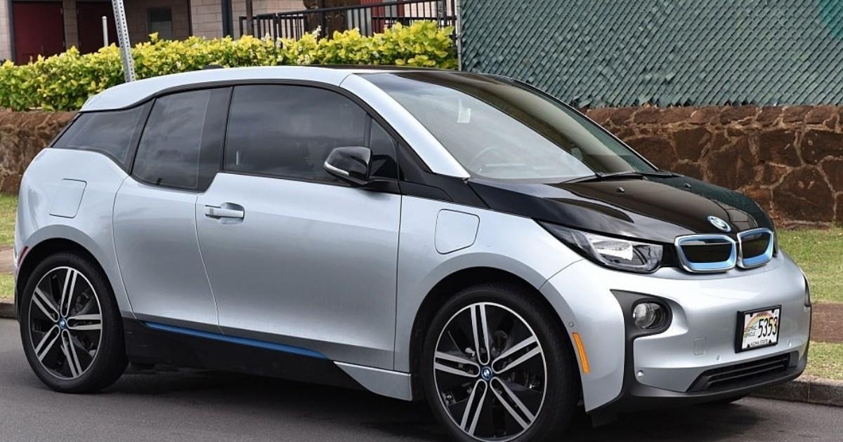 Carro eléctrico de BMW i3
