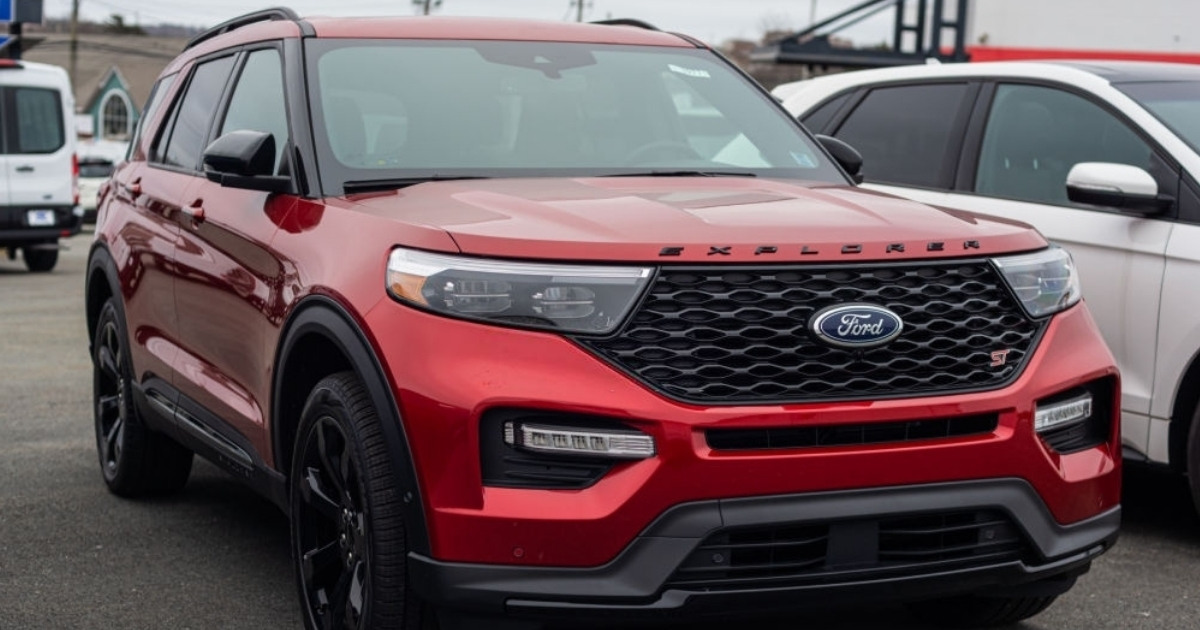 Nuevo modelo Ford Explorer