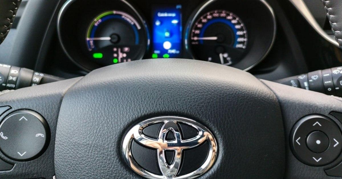 Hermoso tablero de Toyota Corolla