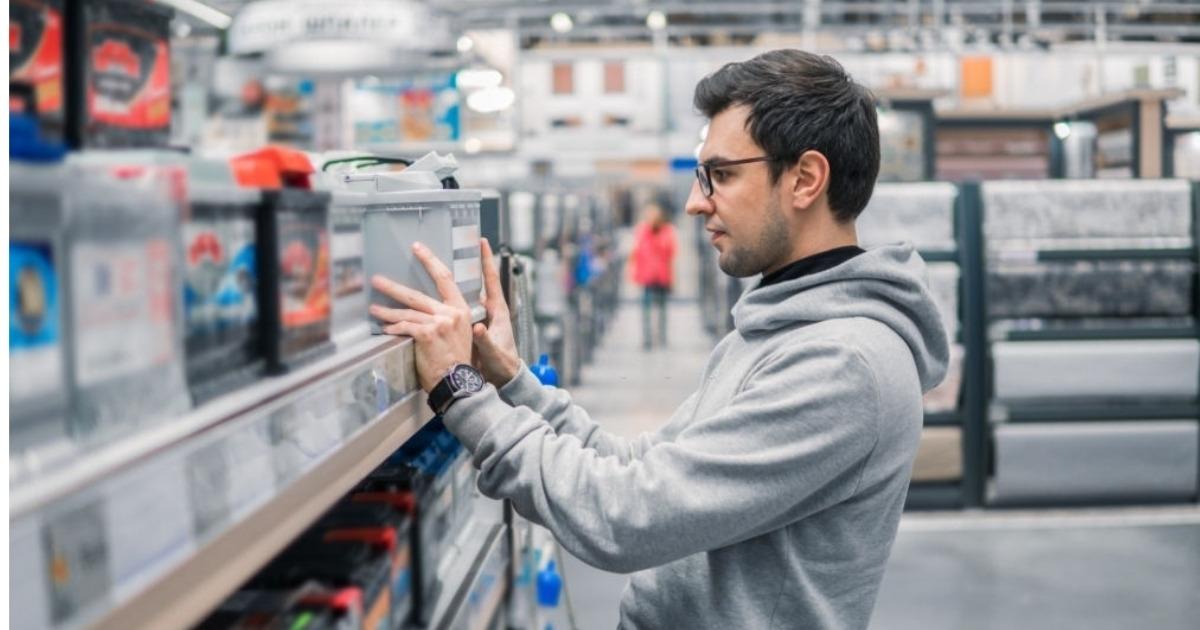 Selección entre tipos de baterias de auto