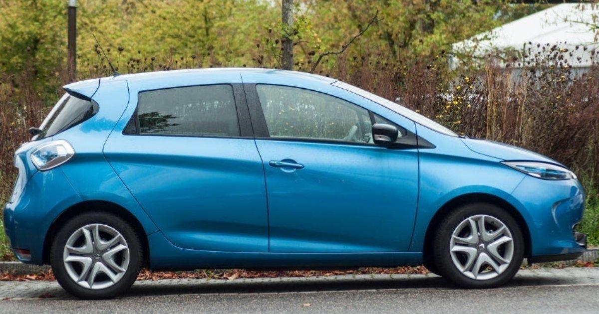Maletero de vehículos utilitario Renault Zoe