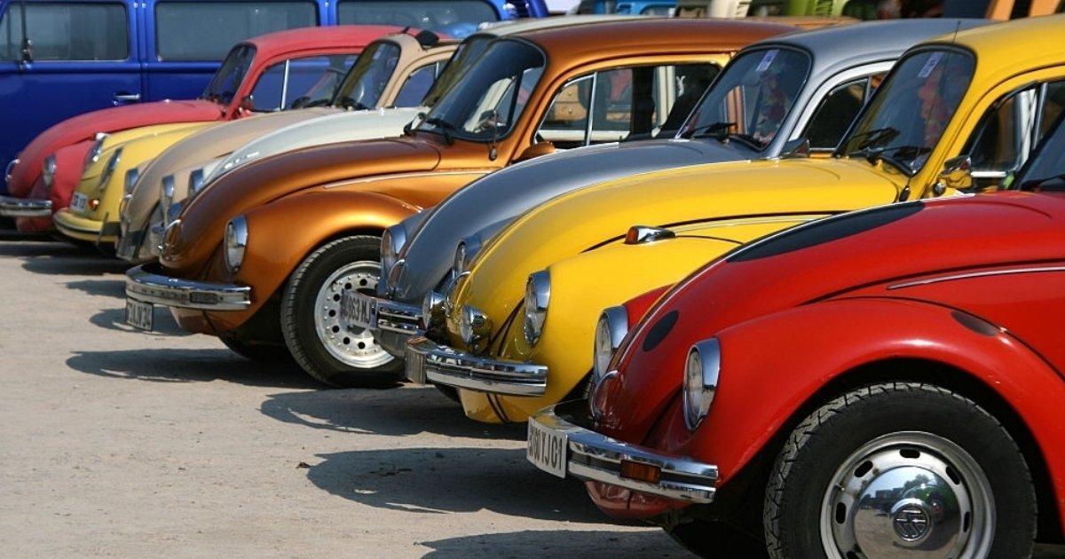 Descubre los modelos de autos Volkswagen escarabajo