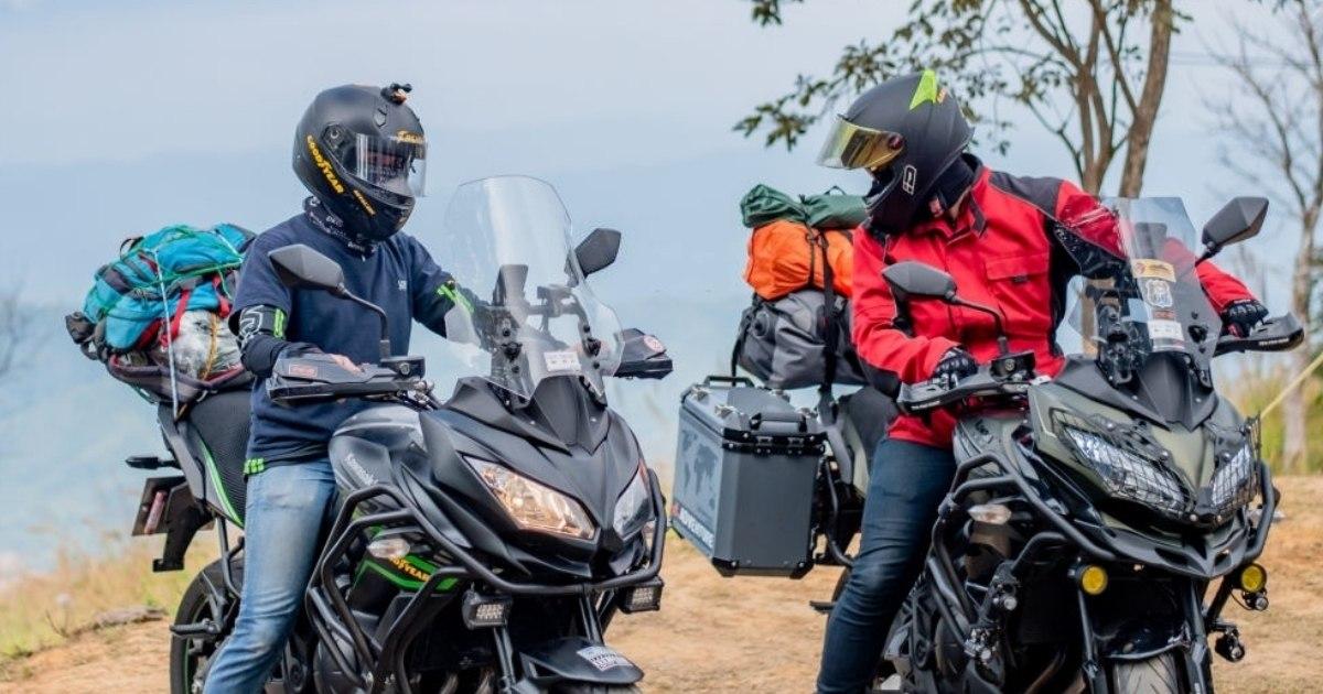 Pasea por donde quieras con las motocicletas Kawasaki Versys