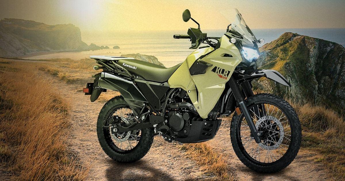 Nuevo modelos de motos Kawasaki KLR