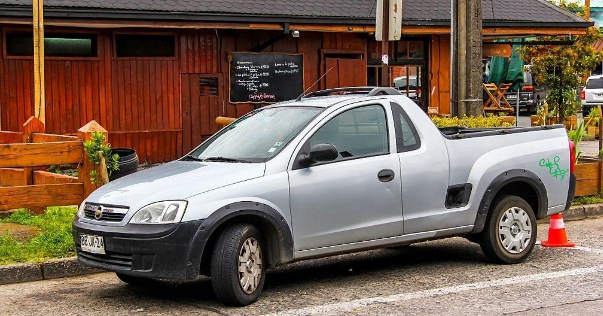 Descubre el modelo de Corsa Pickup