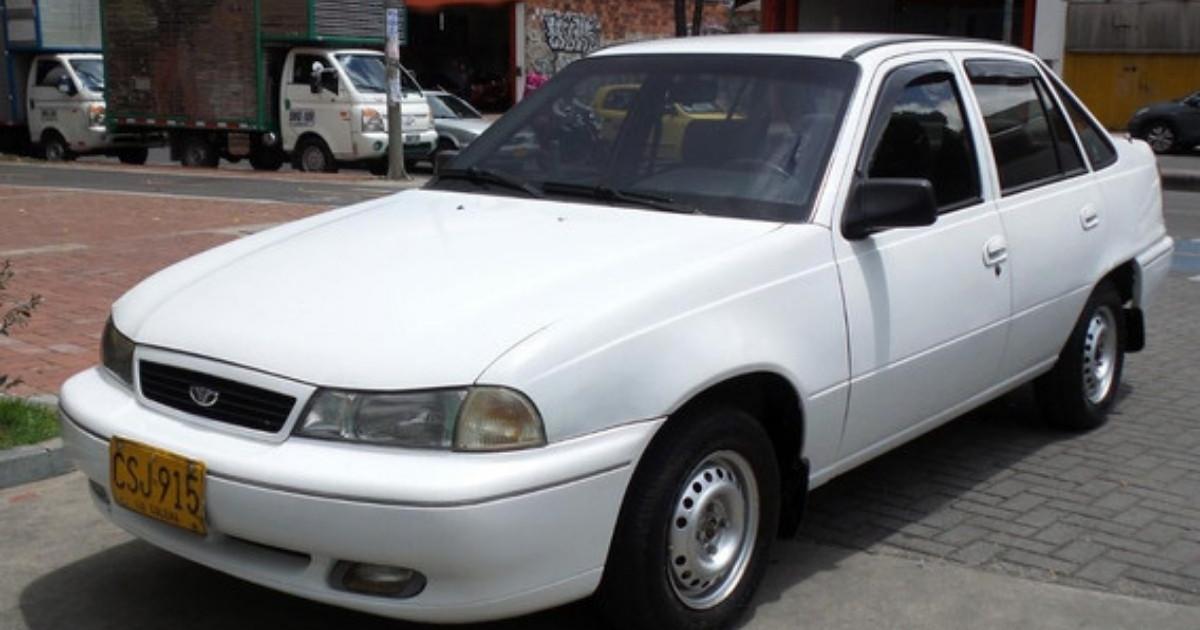 vehículos Daewoo del modelo Ciel