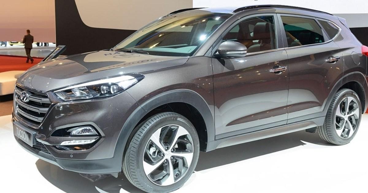 Elegante y modernos modelos de vehículos Hyundai Tucson