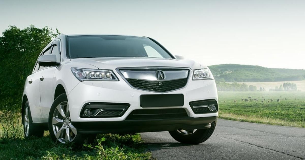 Inigualable modelo de auto Acura MDX